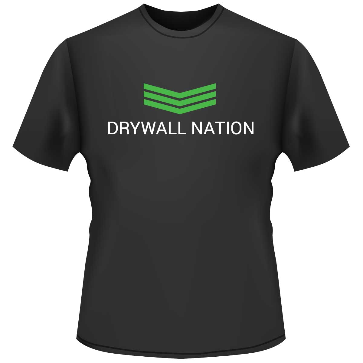 Drywall Nation Shirt - Black