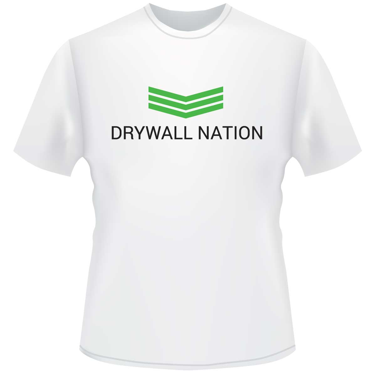 Drywall Nation Shirt - White