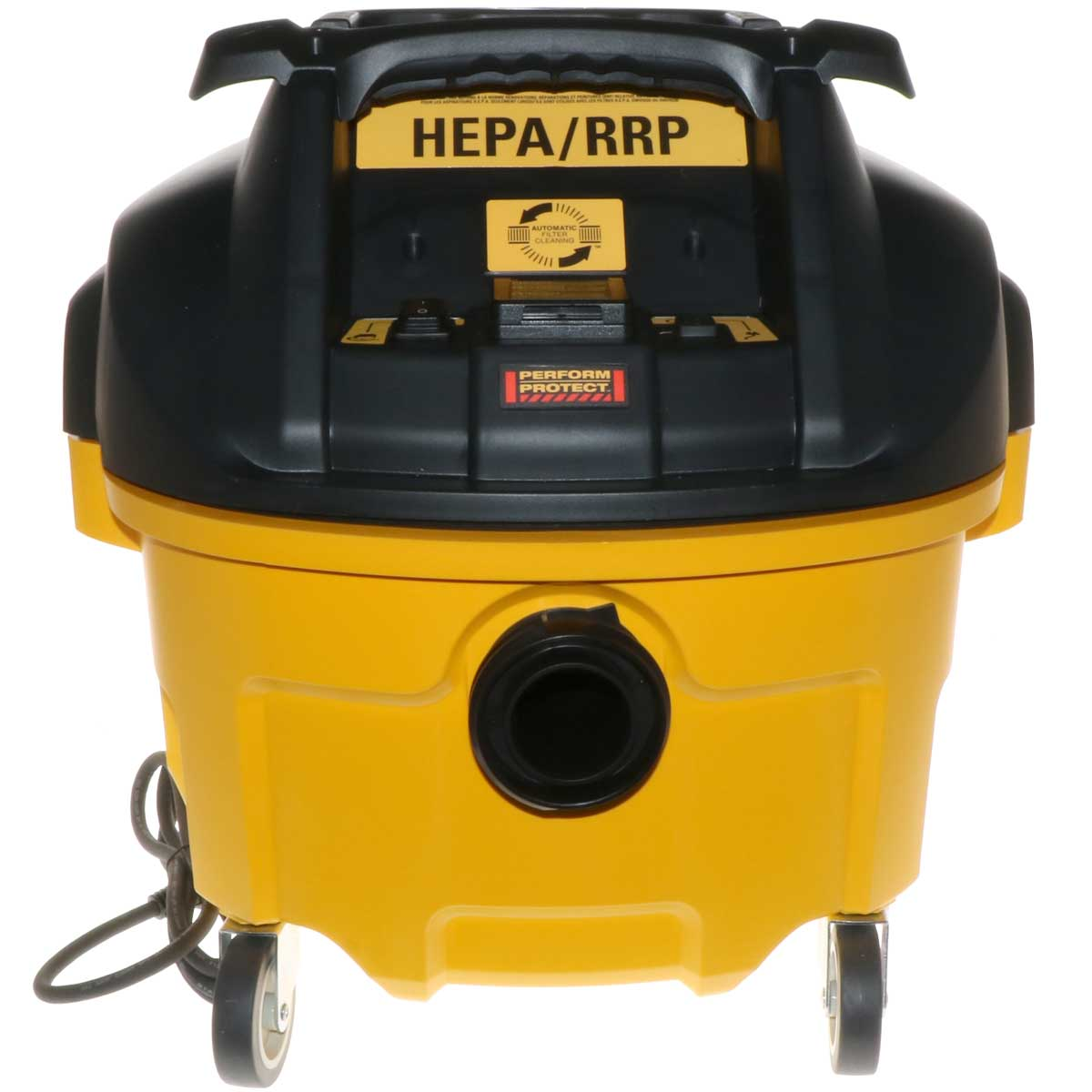 DeWalt 8gal HEPA Vac with Auto Filter Cleaning
