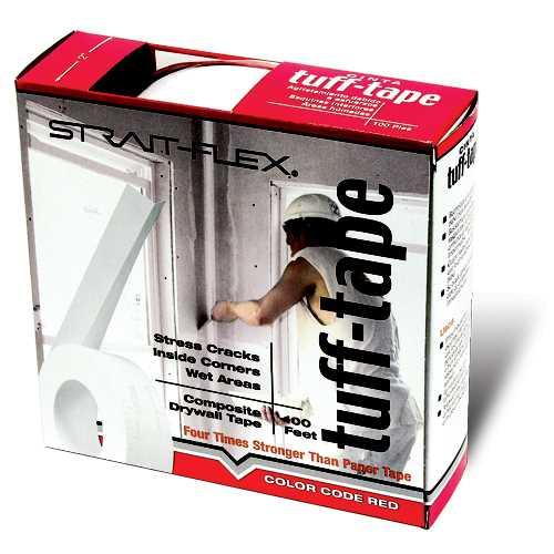 Strait Flex Drywall Tape : Strait flex drywall tuff tape