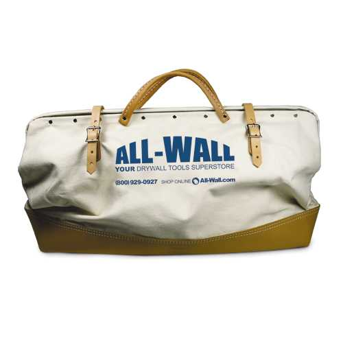 All Wall Drywall Tools : All wall quot leather bottom bag