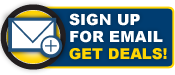 Sign up for Email - Get Deals