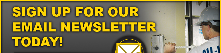 Sign up for our email newsletter TODAY!